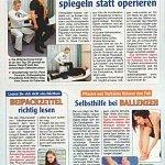 Echo der Frau 02/2013, Hüftarthrose spiegeln statt operieren