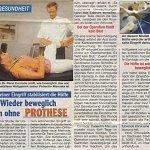 Echo der Frau 02/2010, Wieder beweglich auch ohne Prothese