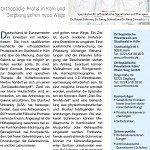 Kölner Stadtanzeiger 05.03.2016, Hüfte und Wierbelsäule